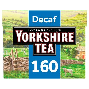 Yorkshire Tea Decaf 160 tea bags