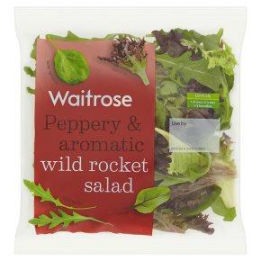 Waitrose Peppery & Aromatic Wild Rocket Salad