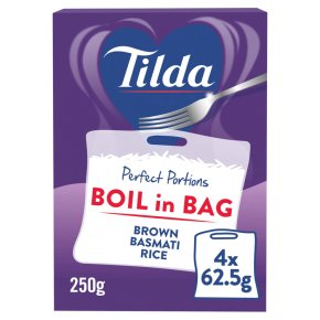 Tilda Boil in the Bag Brown Basmati Rice