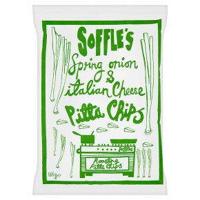 Soffle's Onion & Cheese Pitta Chips
