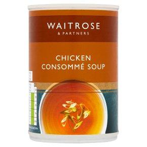 Waitrose Chicken Consommé Soup