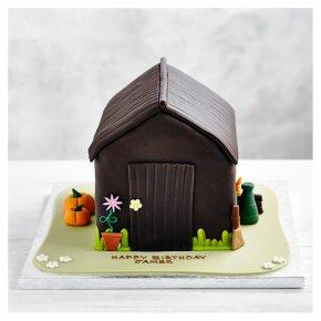 Fiona Cairns Potting Shed Chocolate Sponge Cake