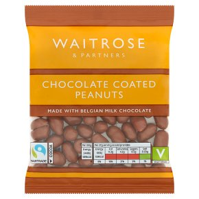 Waitrose Belgian chocolate peanuts