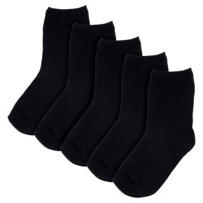 Waitrose New Ankle Socks Black 12H-3H