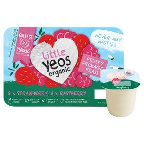 Yeo Valley Little Yeos Strawberry Raspberry