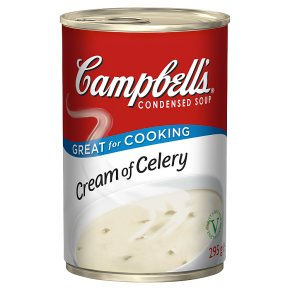 Campbell's condensed cream of celery soup