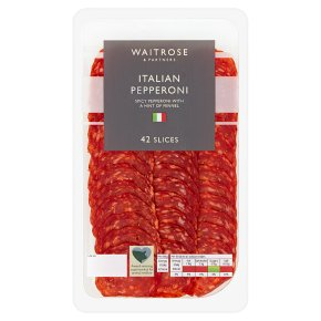 Waitrose Italian Pepperoni 42 Slices
