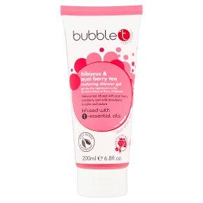 Bubble T Hibiscus Shower Gel