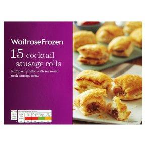 Waitrose Frozen 15 cocktail sausage rolls
