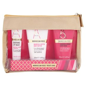 Argan+ Moroccan Rose Treats Bag