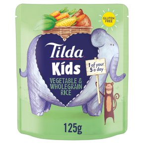 Tilda Kids Veg & Wholegrain Rice