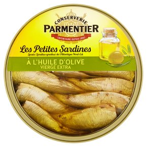 Parmentier Petites Sardines in Olive Oil