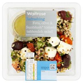 Waitrose Feta, Olive & Sunblush Salad