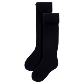 Waitrose 2pk Black tights size: 9-10yrs