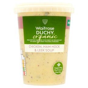 Duchy Organic Chicken, Ham Hock & Leek Soup