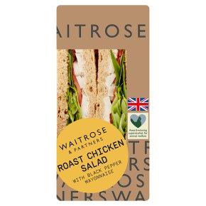 Waitrose Roast Chicken Salad Sandwich