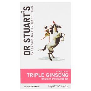 Dr Stuart's Triple Ginseng 15 Tea Bags