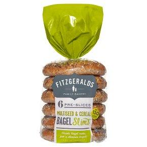 Fitzgeralds Multiseed & Cereal Bagel Slims