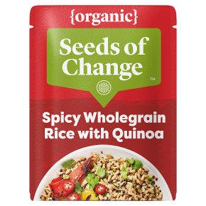 Seeds Of Change Organic Quinoa & Spicy Brown Rice