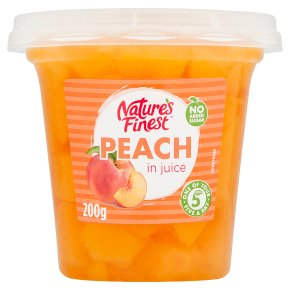 Nature's Finest peaches in juice