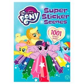 My Little Pony Super Sticker Scenes 1001 Stickers