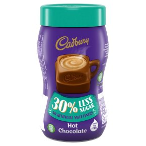 Cadbury Hot Chocolate 30% Less Sugar