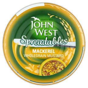 John West Spreadables Mackerel Wholegrain Mustard