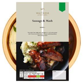 No.1 Sausage & Mash