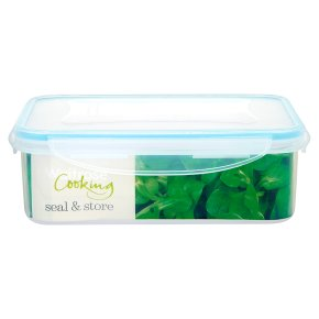 Waitrose Seal & Store 1.5 litre rectangle container