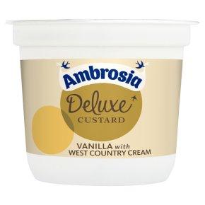 Ambrosia Deluxe Vanilla Custard With West Country Cream