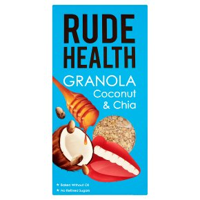 Rude Health Granola Coconut & Chia