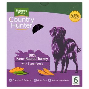 Country Hunter Farm Reared Turkey with Fruit & Veg