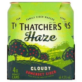 Thatchers Haze Cloudy Cider