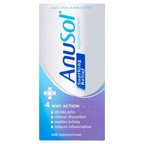 Anusol 4 Way Action Suppositories