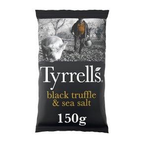 Tyrrell's Black Truffle & Sea Salt Crisps