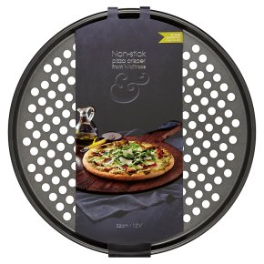 from Waitrose 32cm non-stick pizza crisper
