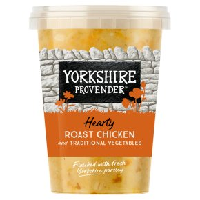 Yorkshire Provender Roast Chicken Soup with Vegetables