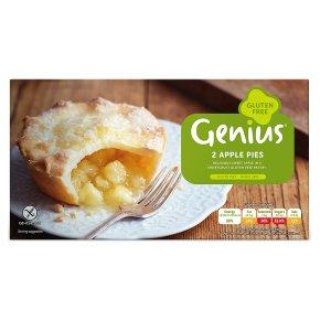 Genius Gluten Free 2 Apple Pies