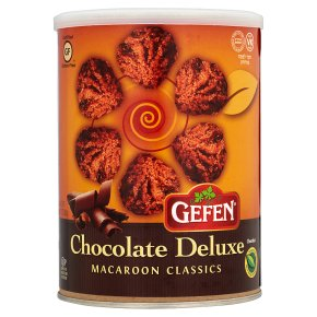 Gefen Chocolate Deluxe Macaroons