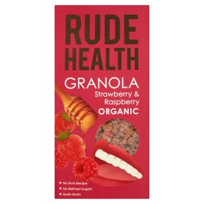 Rude Health Granola Strawberry & Raspberry