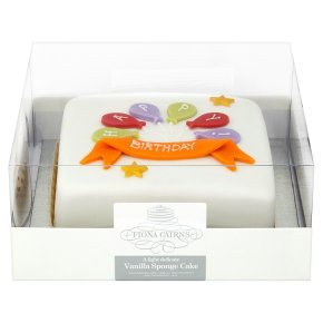 Balloon Birthday sponge cake