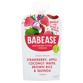 Babease Strawberry, Apple, Coconut Water