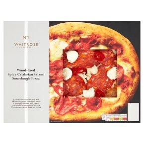 Waitrose No1 Spicy Calabrian Salami Pizza