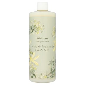 Waitrose Orchid & Honeysuckle Bath