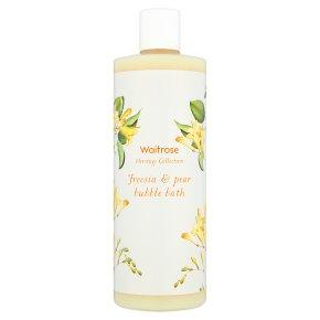 Waitrose Heritage Freesia Bubble Bath