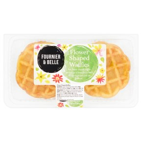 Fournier & Belle Flower Shaped Waffles