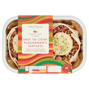 Waitrose Easy to Cook Ploughman's Tartlets