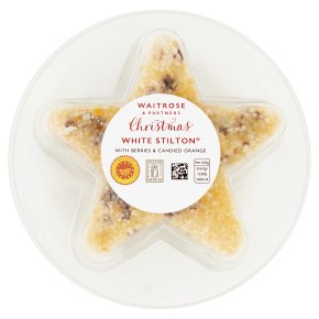 Waitrose Christmas White Stilton with Berries & Orange