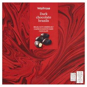 Waitrose Dark Chocolate Brazils