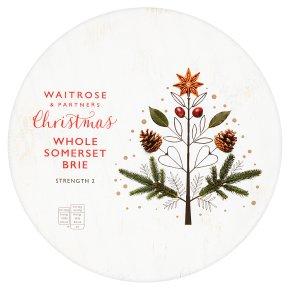 Waitrose Christmas Whole Somerset Brie